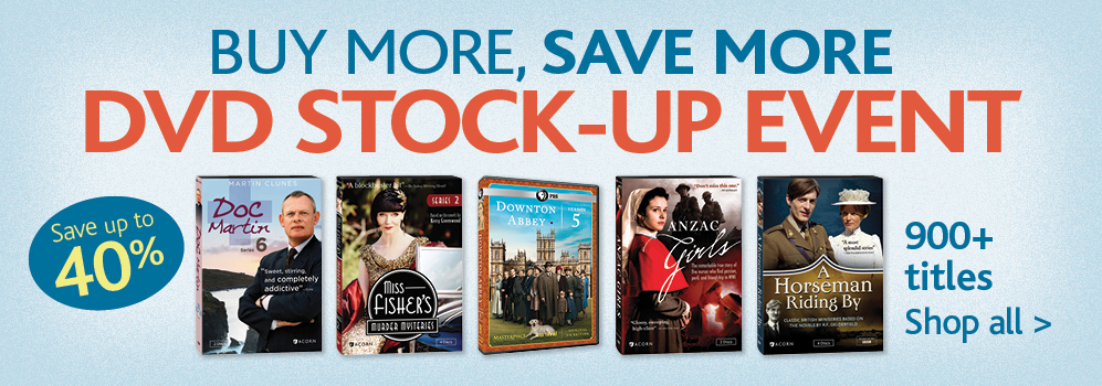 dvd stock up event